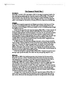 World War 1 Essay by World War One Essay Intro World War I Essay Exle Wwi Research Paper Sle And