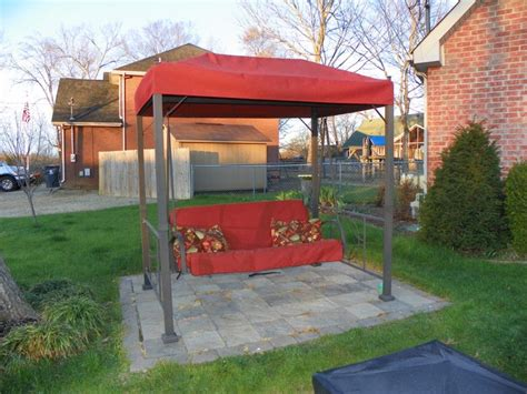 hton bay outdoor swing hton bay patio swing replacement swing canopies for home