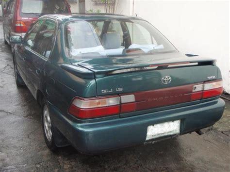 1997 Toyota Corolla For Sale Toyota Corolla Gli 1997 For Sale Bacolod