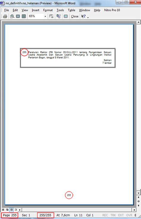cara membuat halaman di word 2003 cara membuat daftar indeks secara otomatis di ms word 2003