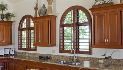 Bathroom Curtains For Windows Ideas plantation shutters for arched windows in austin tx