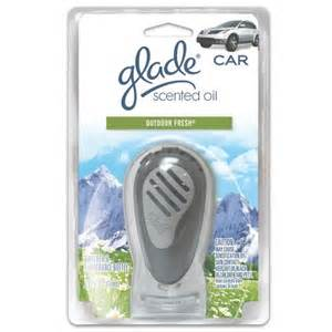 Glade Car Air Freshener Outdoor Fresh Glade Vent Wick Car Air Freshener In Outdoor Fresh 1