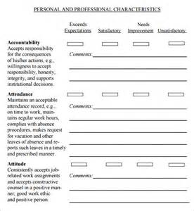 employee supervision template supervisor evaluation 7 free for pdf sle