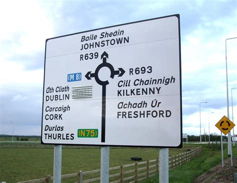 printable irish road signs a little history and interesting facts about the irish