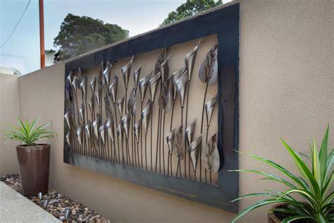 Outdoor Metal Wall Decor by Vinbrant Outdoor Metal Work
