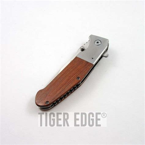 wooden handle knives assist folding pocket knife wooden handle switch