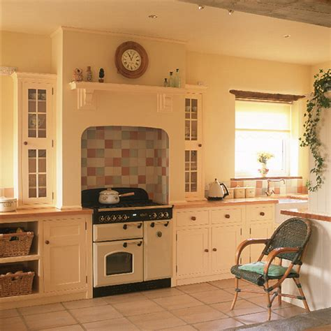 country kitchen tile ideas shaker style country kitchen kitchen design ideal home