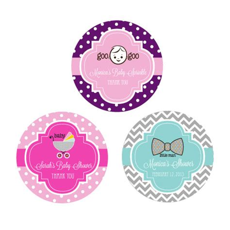 personalized baby shower labels personalized baby shower favor labels