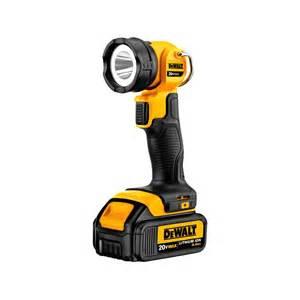 dewalt 174 dcl040 20v max li ion led work light