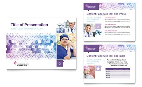 Medical Sales Resume Sample cancer treatment powerpoint presentation template design