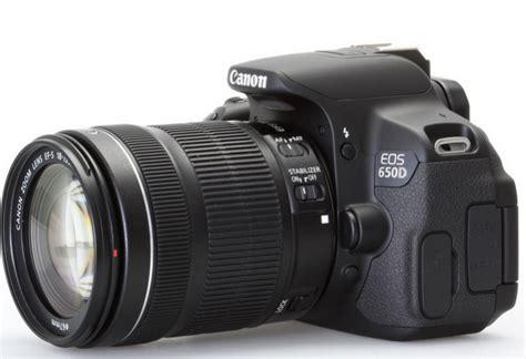Kamera Canon Eos Terbagus harga kamera dslr canon eos 650d kit terbaru harga