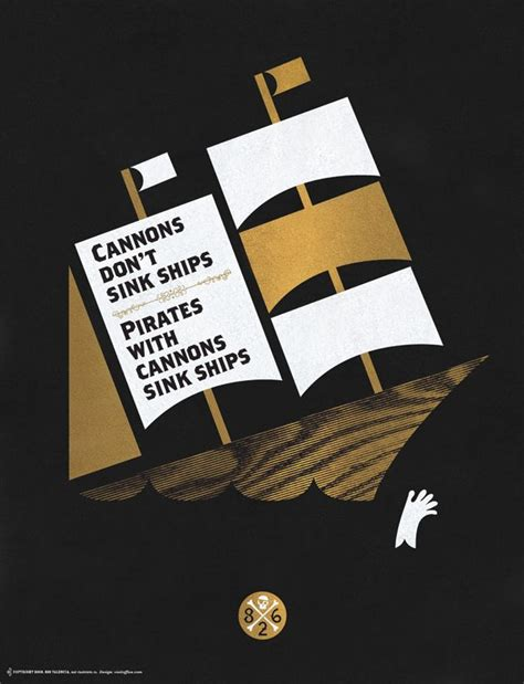 sink ships poster cannons don t sink ships poster by office visitoffice com
