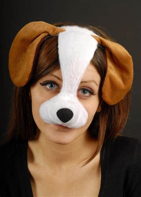 puppy mask mask on headband em154 struts superstore