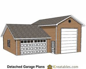 Rv Storage Garage custom garage plans storage shed detached garage plans