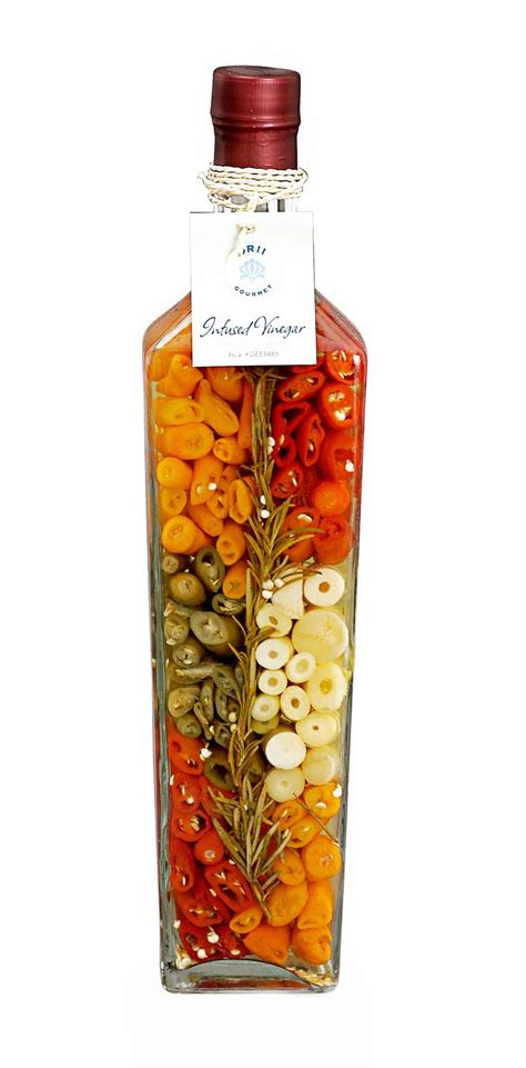 decorative bottles with vegetables inside cono decorated vinegar bottle infusions pinterest