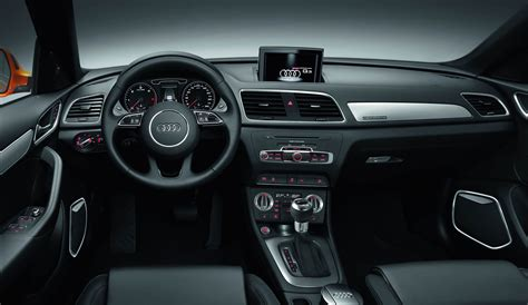 2012 audi q3 black interior dashboard eurocar news