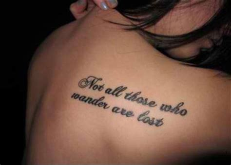 shoulder quote tattoos for women tattoo designs