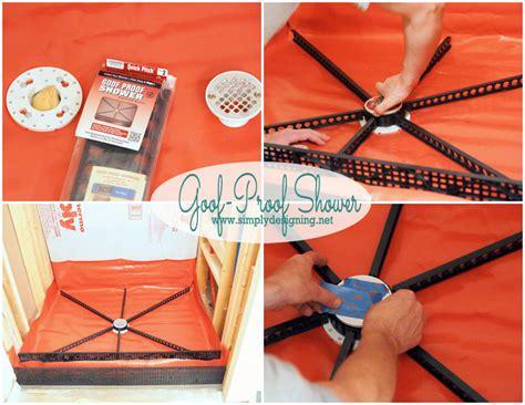 diy bathtub liner kits master bathroom remodel part 4 building a shower pan