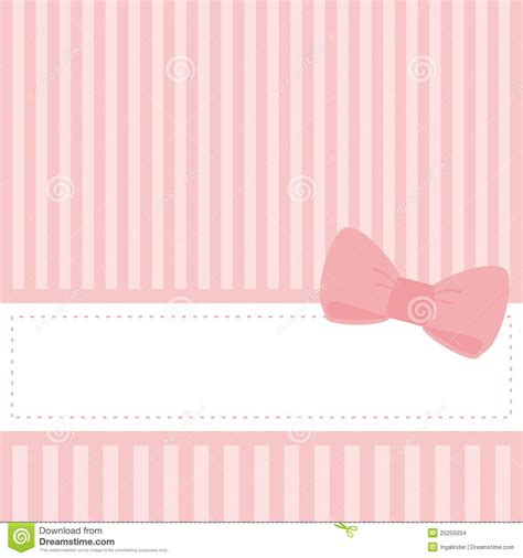 Pink Baby Shower Background by Pink Wedding Card Or Baby Shower Vector Invitation Stock