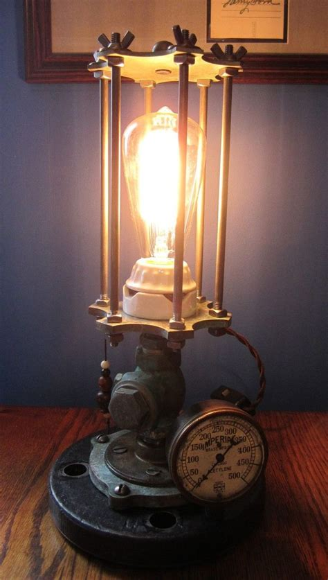 Steampunk Lamp Gallery ALL ABOUT HOUSE DESIGN : Vintage Steampunk Lamp Ideas
