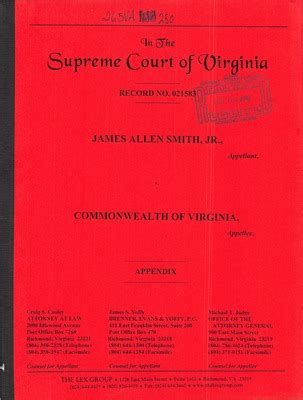 View Court Records Virginia Supreme Court Records Volume 265 Virginia Supreme Court Records