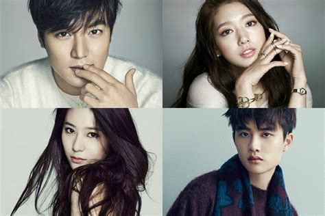throbactor lee min ho and actress park shin hye are starred in a new lee min ho park shin hye exo d o f x krystal currently