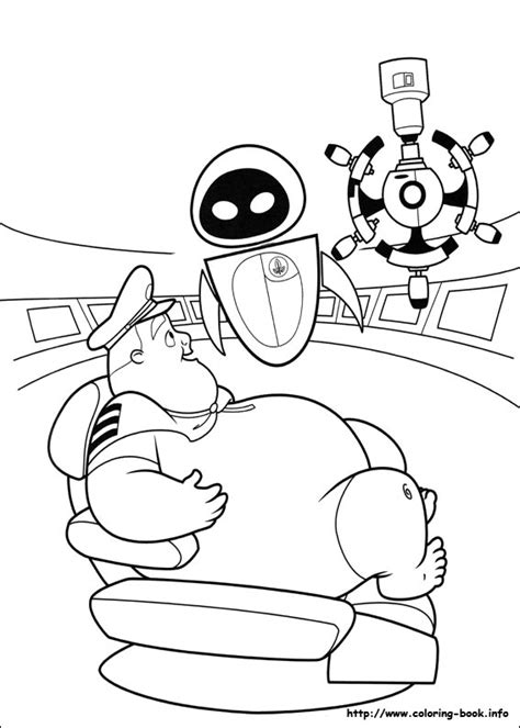 coloring pages on coloring book info wall e coloring picture