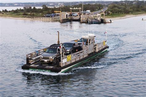Edgartown Chappaquiddick Ferry The Vineyard Gazette Martha S Vineyard News As Chappy Ferry Line Grows Talks Snarl
