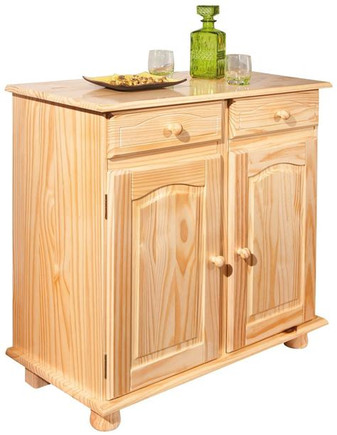 meuble de rangement rustique en pin massif comforium