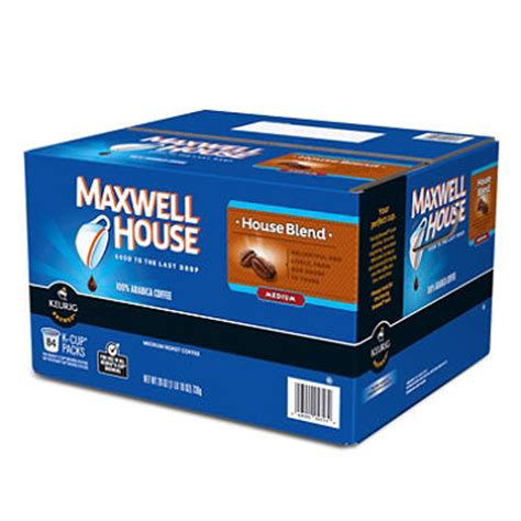 maxwell house k cups maxwell house blend coffee 84 k cups sam s club