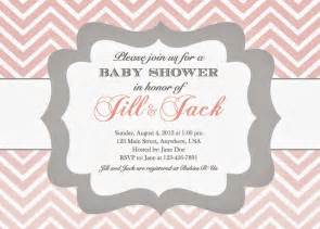 in the chou s nest baby shower invitations