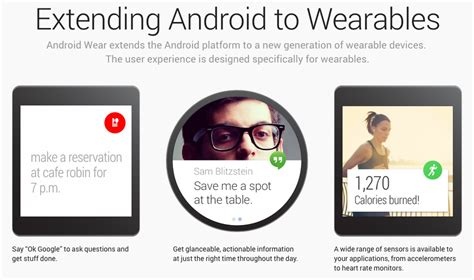 android wear features android wear un sistema inteligente para relojer 237 a