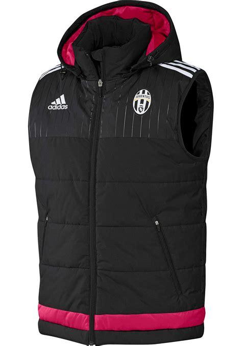 Sleeveless Football Ac Milan 014 fc juventus adidas padded jacket black sleeveless vest 2015 16 zip pocket ebay