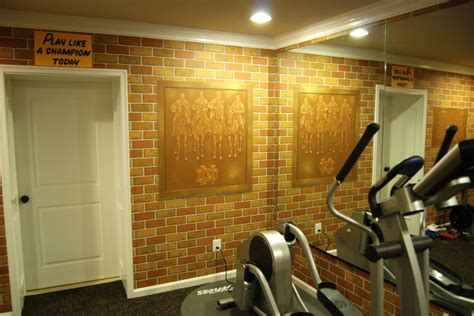 notre dame room and board pin by wow effects murals and on notre dame football locker