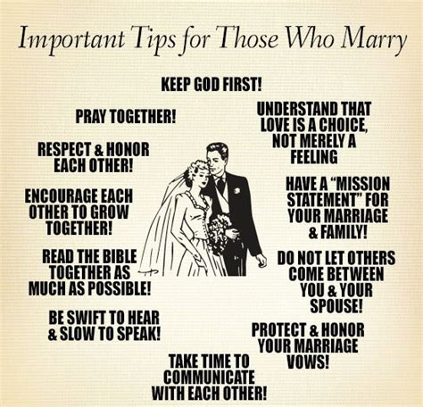 Marriage Advice In The Bible by Important Tips For Those Who Keep God