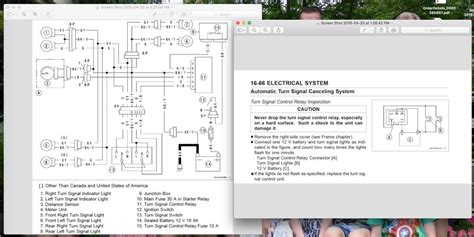 turn signal relay wiring diagram cdl walk around
