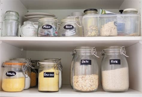 Pantry Storage Jars by Storage Solutions For The Pantry Home Organisation
