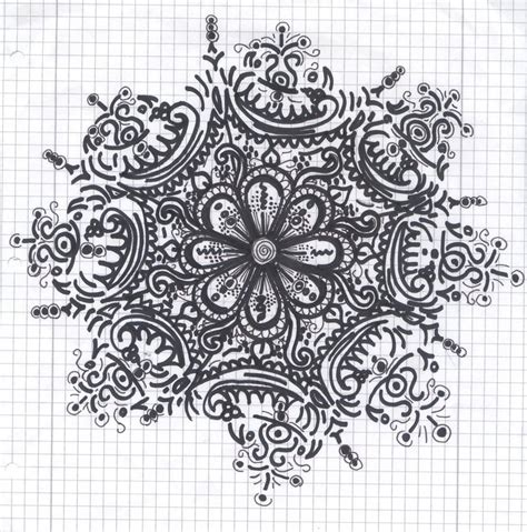 pattern drawing of flower design patterns to draw of flowers www imgkid com the