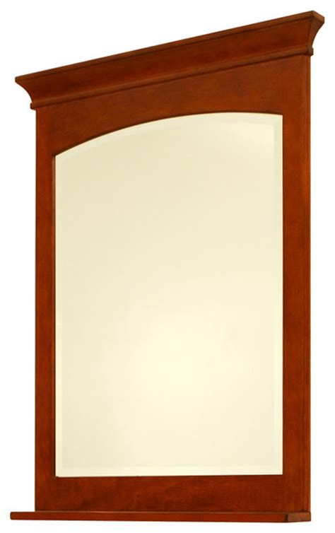 craftsman mirrors bathroom expressions 30 quot framed beveled mirror craftsman