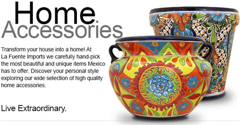 Copper Kitchen Canisters by Mexican Talavera Tile Pottery Mirrors Lighting Plates