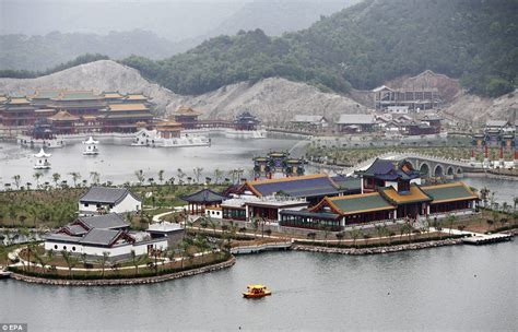 film china eastern chinese movie studio opens replica of old summer palace