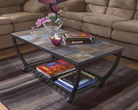 t233 0 antigo contemporary coffee table with slate