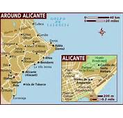 Map Of Alicante
