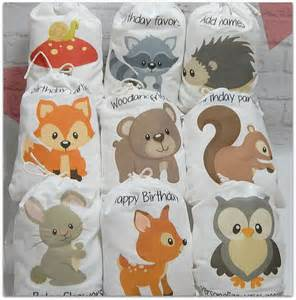 Woodland Animals Baby Shower Decorations by Baby Woodland Animals