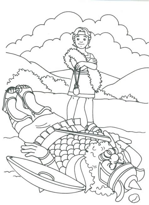 coloring page david becomes king 516776 david coloring pages david bible printables king