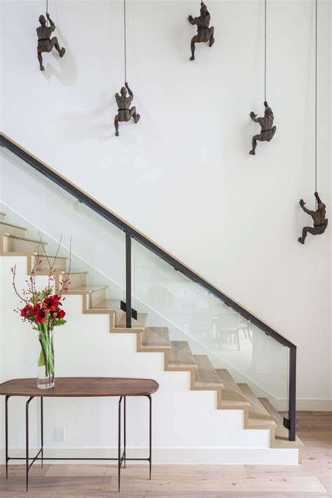 stairway decor seven creative ways to design a stairwell