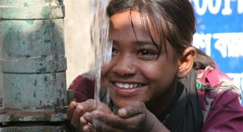 The Child Needs A Helping Join To Fight Against World Water Crisis All You