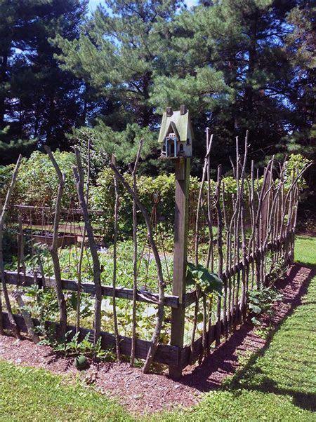 garden projects  sticks  twigs cheap garden