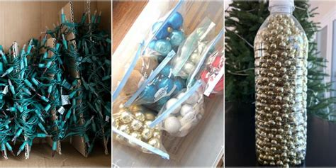awesome picture of storing christmas tree lights perfect