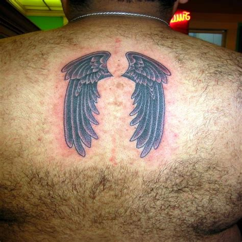 small angel wing tattoos on back tons of beautiful tattoos me now